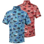 Kerrits Spring Kids IceFil Short Sleeve Print Top/Shirt