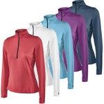 Kerrits Spring IceFil Flex Long Sleeve Top Shirt Solid