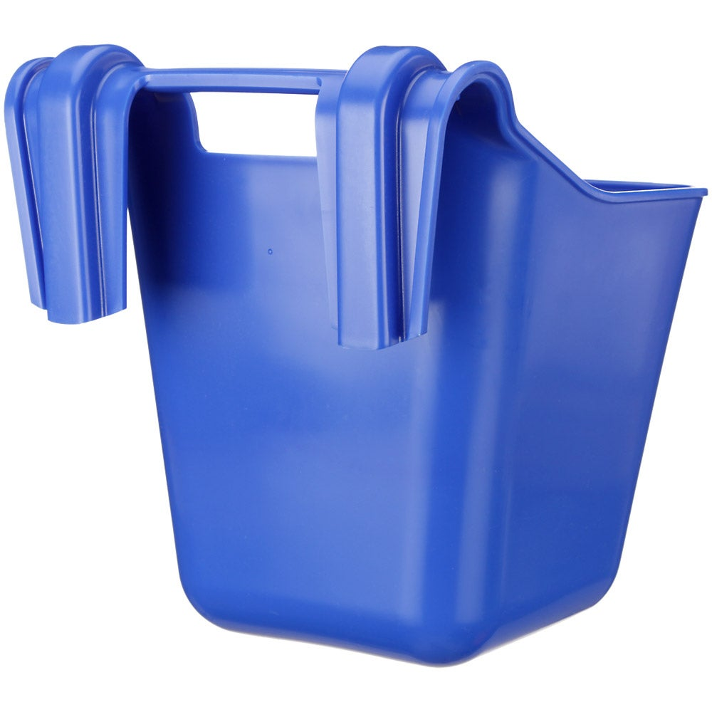 Little Giant Hook Over Fence Stall Feeder Bucket Riding