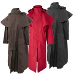 Muddy Creek Long Raincoat Waterproof Duster Jacket