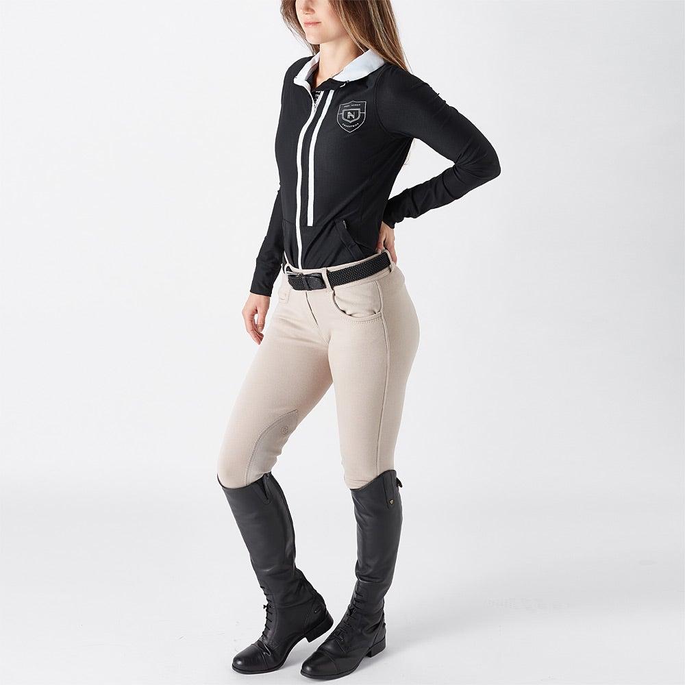 Noel Asmar Women S Atlas Mesh Zip Up Jacket Riding Warehouse