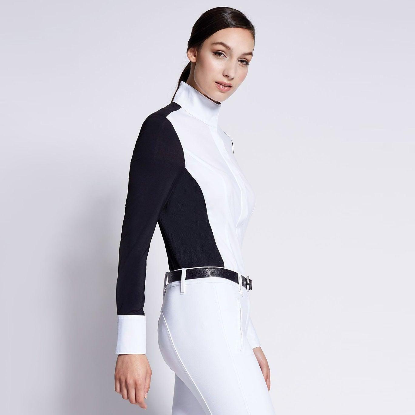 Noel Asmar Women S Costa Cooling Full Zip Show Shirt