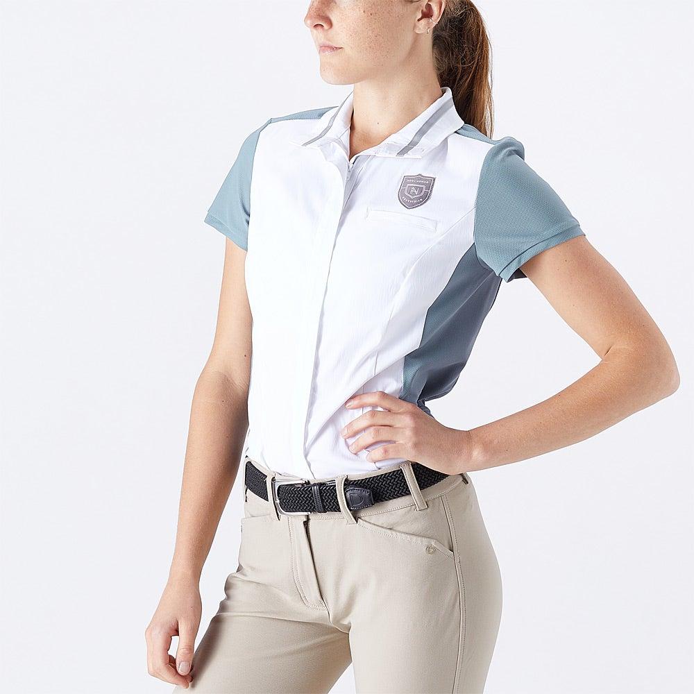Noel Asmar Women S Orion Short Sleeve Mesh Show Shirt