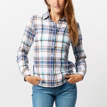 e0cc7ddb76 Noble Equestrian Women s Downtown Flannel Shirt - Riding Warehouse