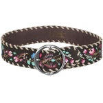 Noble Outfitters Frontier Floral Leather Belt