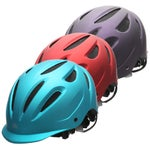 Ovation Protege Metallic Riding Helmet