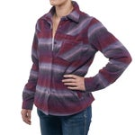 Outback Trading Co Ladies Cozy Fleece Big Shirt