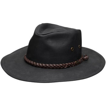 aed6c492f99d8 Outback Trading Co Waterproof Oilskin Grizzly Hat - Riding Warehouse