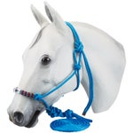 Professionals Choice Beaded Rope Halter & Leadrope