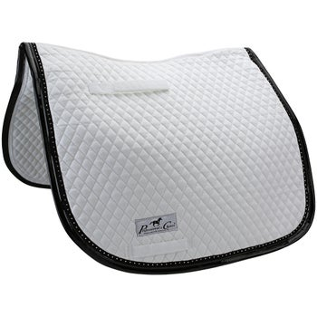 Professionals Choice Crystal Patent Dressage Pad - DEAL