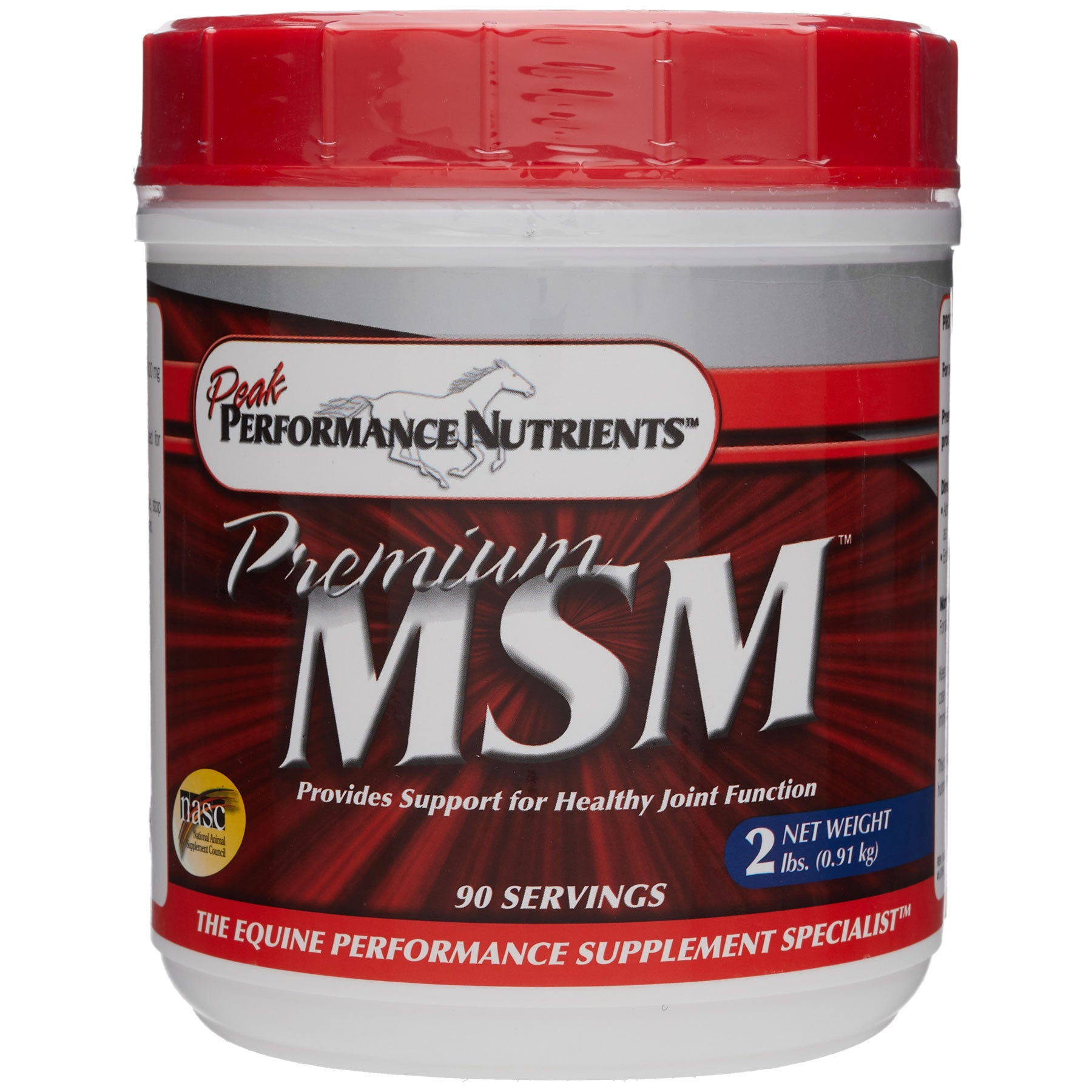 Peak Performance Nutrients Premium MSM Joint Supplement - Riding