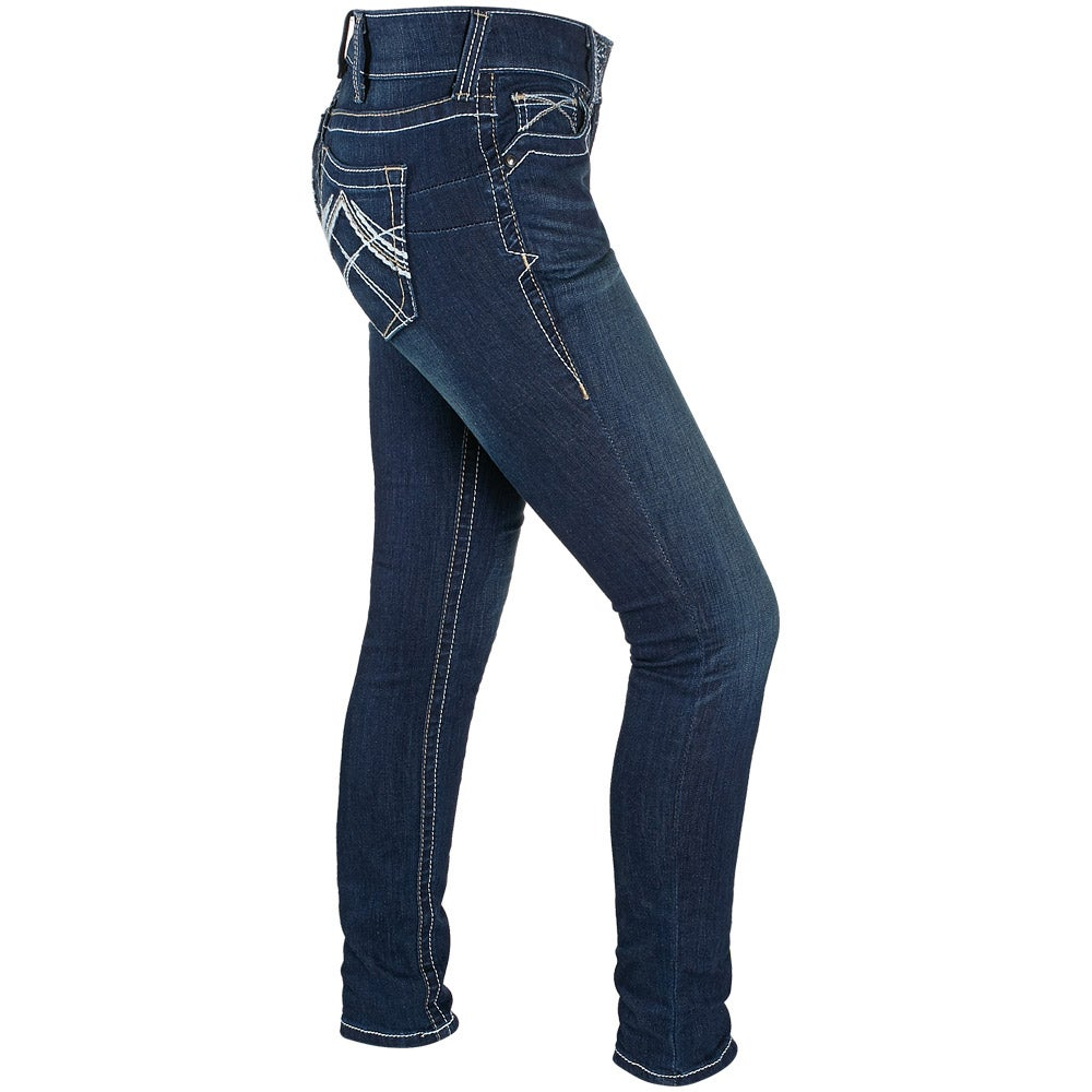 Ariat Women's REAL Denim Whipstitch Skinny Jeans