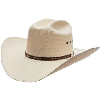 2a5fb8ba Resistol Kingman K George Strait 10X Straw Cowboy Hat - Riding Warehouse