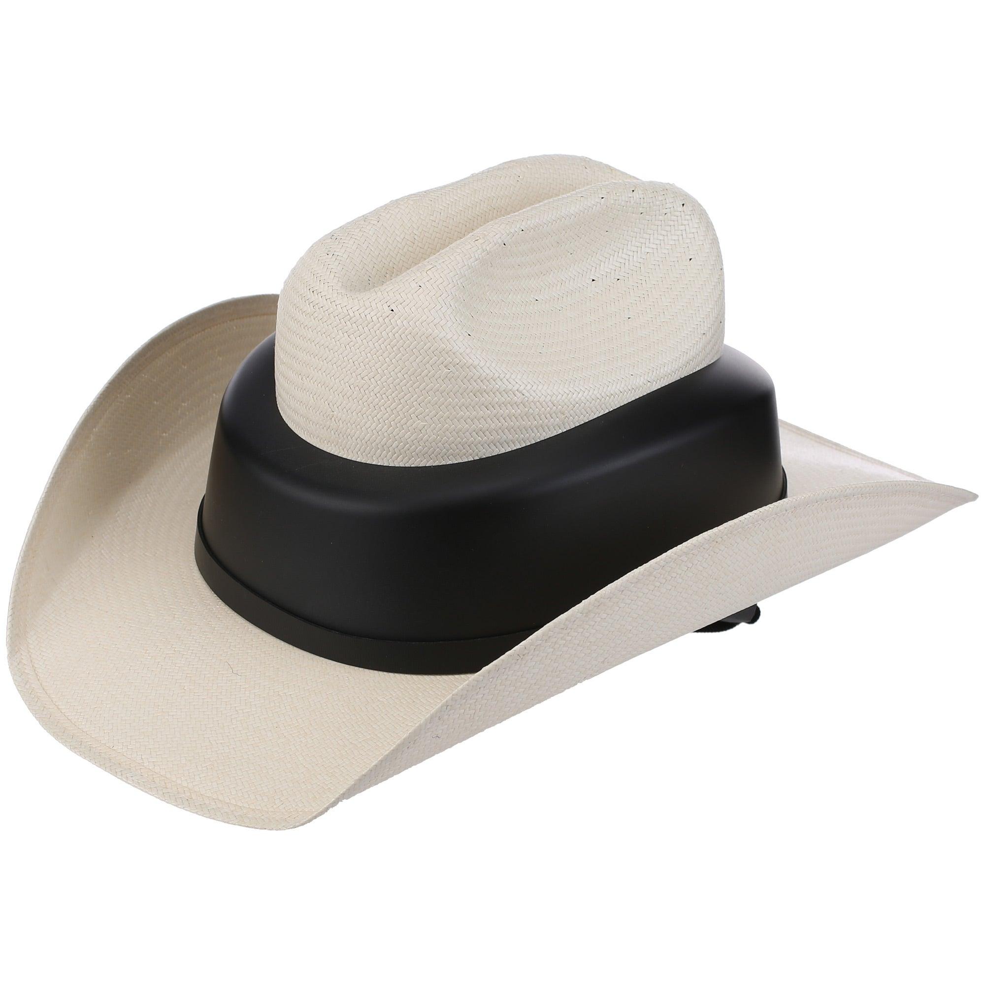Resistol RideSafe Western Straw Cowboy Hat Helmet - Riding Warehouse 235f6888c4a