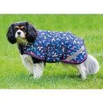 Shires Waterproof Dog Print Dog Coat/Jacket