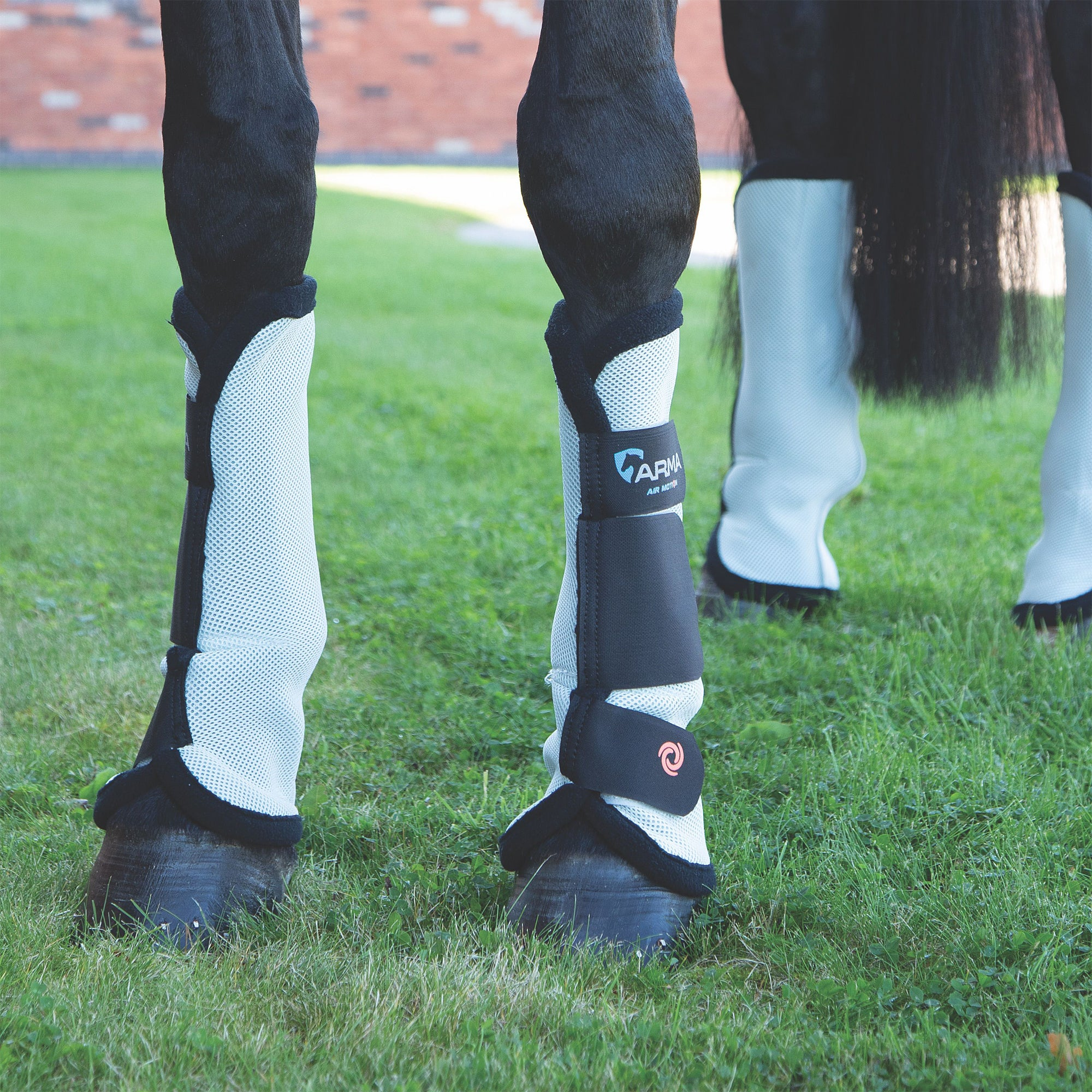 Shires Airflow Mesh Fly Leg Wraps/Boots Set Of 4