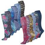 SoxTrot Knee High Tall Boot Socks
