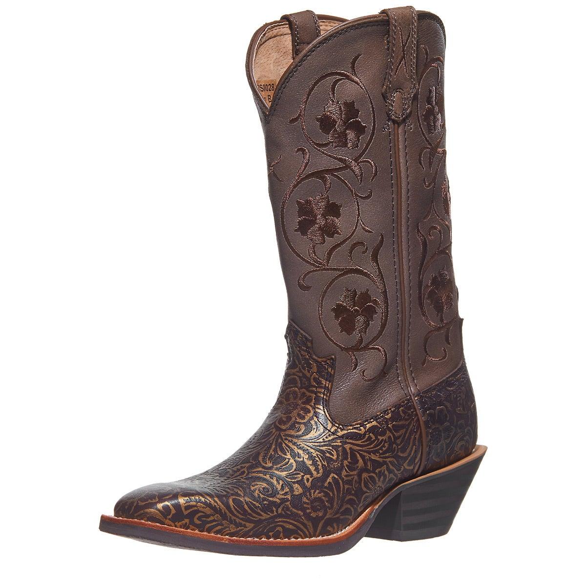 0cf38df13fb Twisted X Women's Ruff Stock Filigree Cowboy Boots - Riding Warehouse