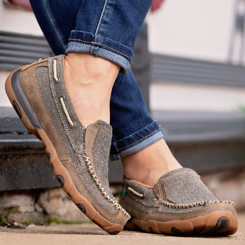 815a5eb8e7a Twisted X Women s ECO Slip-On Driving Moccasins - Riding Warehouse