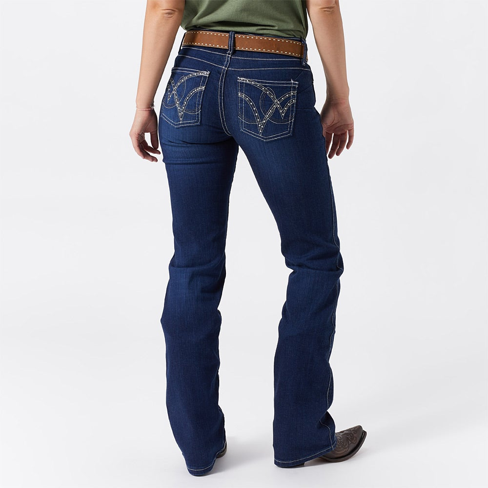 Wrangler Women S Q Baby Booty Up Ultimate Riding Jeans
