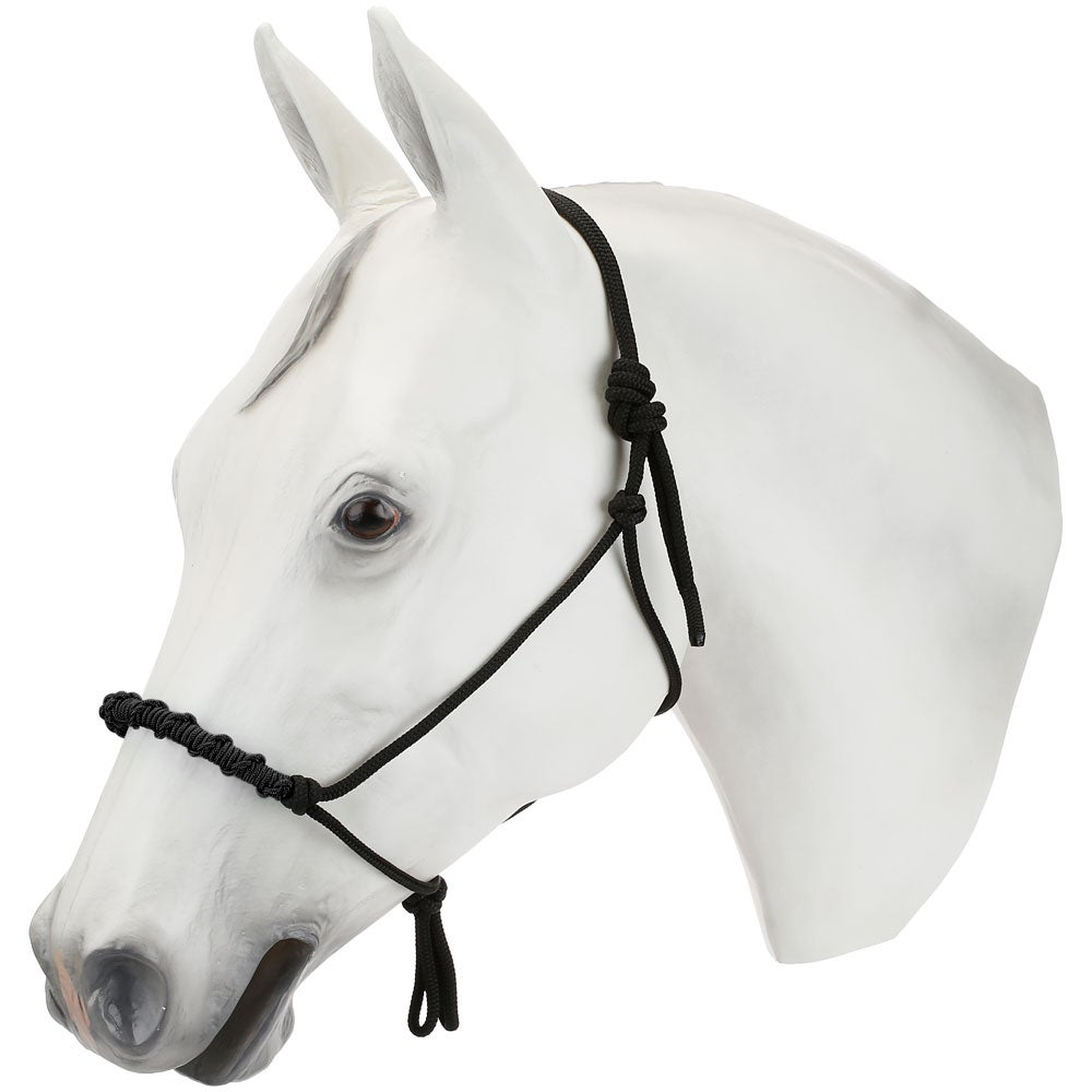 Weaver Stacy Westfall Rope Halter with Rolled Half Hitched Noseband