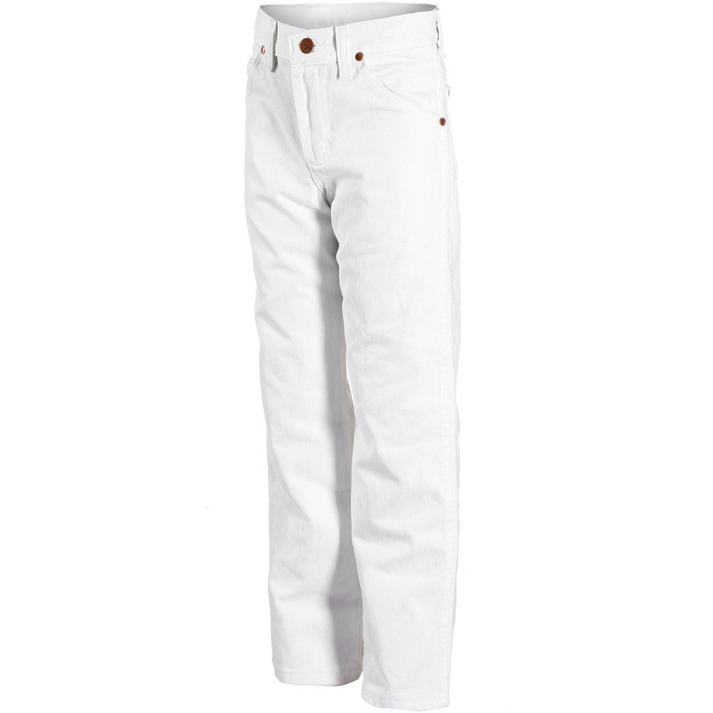 Wrangler ProRodeo 4H & FFA Kids' White Denim Jeans