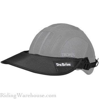 DaBrim Rezzo Helmet Visor and Attachment Set/3 Lengths