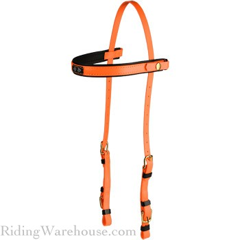 Zilco Deluxe Snap-On Trail Bridle Headstall Brass